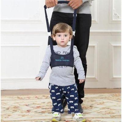 学步带的危害大揭秘!再好的学步带也不如父母带着学