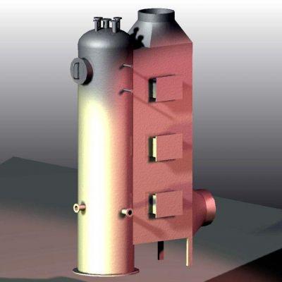热管式余热锅炉的基本类型和工作原理