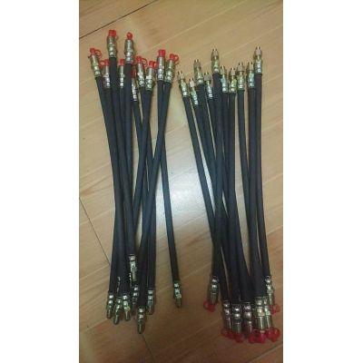 电机注油软管延长管黄油管延伸软管挖机固定加注油嘴接头M10