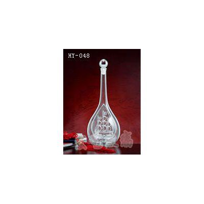 内蒙古玻璃工艺酒瓶|宏艺玻璃公司|接受订制玻璃工艺酒瓶