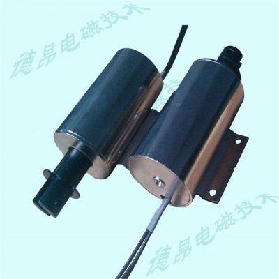 水平安装直线推拉式电磁铁DO3257直流电磁铁