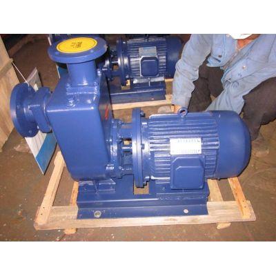 直连式ZW自吸泵无堵塞排污泵三相离心泵高扬程大流量污水泵