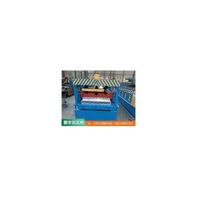 河北沧州彩钢压瓦机安装「震宇压瓦机」压瓦机设备/用心设计