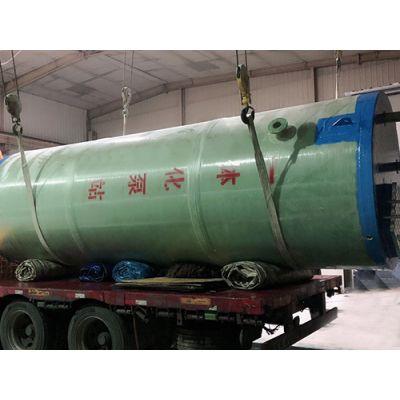 新疆一体化泵站加工厂家~妍博环保供应污水提升预制泵站